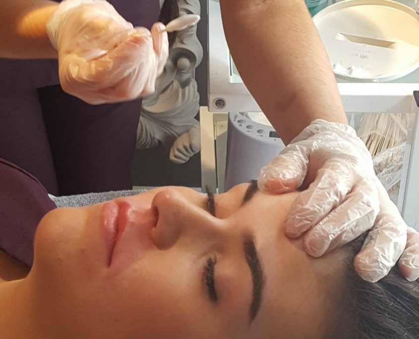 facial waxing training