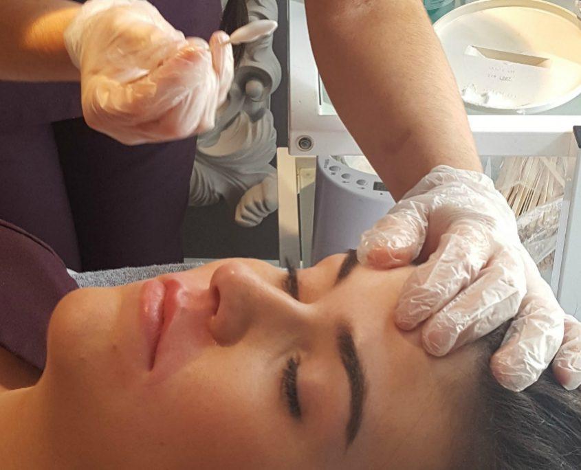 facial waxing training