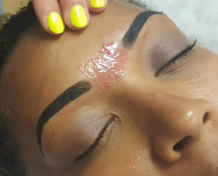 brow waxing course
